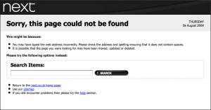 Next custom 404 page