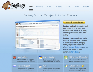 FogBugz - web-based or installed bug tracking software with large feature set
