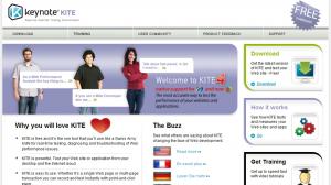 Keynote KITE is a free web performance testing tools