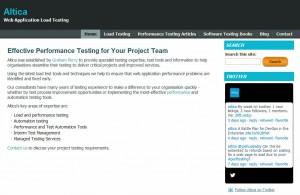 Altica - Web Application Performance Testing