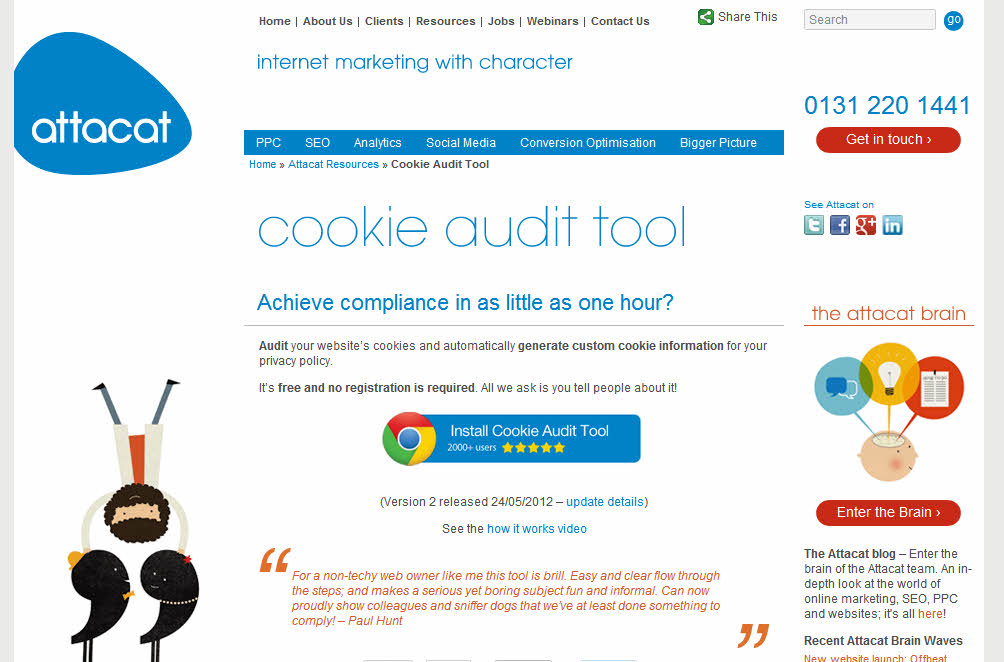 Cookie Auditing Tools