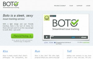 Boto - Issue Tracking Application
