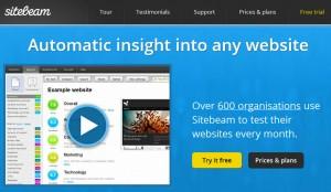 Sitebeam - Comprehensive Testing Tool