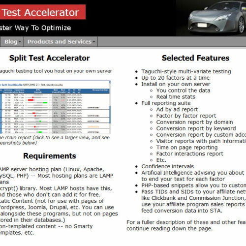 Split Test Accelerator