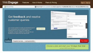 WebEngage - Online Surveys and User Feedback Tool