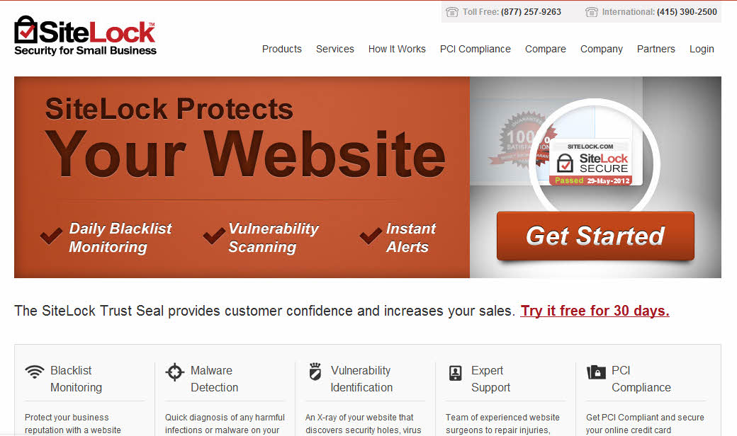 SiteLock Protects Your Website