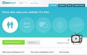 UserrReport helps you improve your website