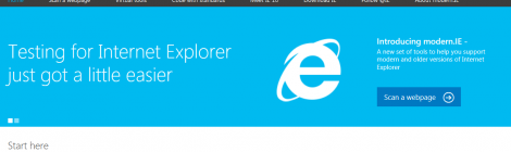 Microsoft launch modern.IE - is it too little too late?