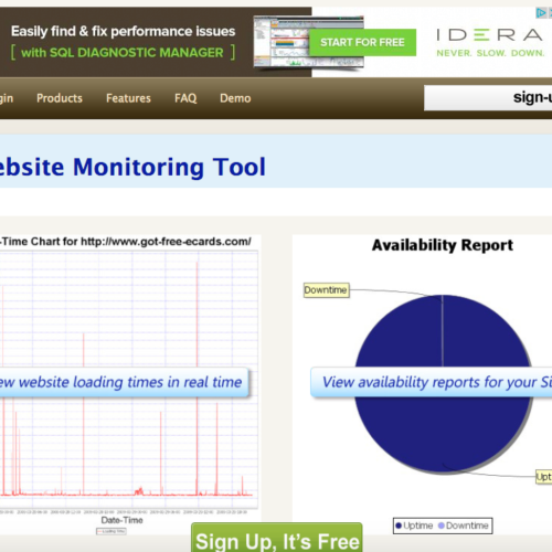 web monitoring tools