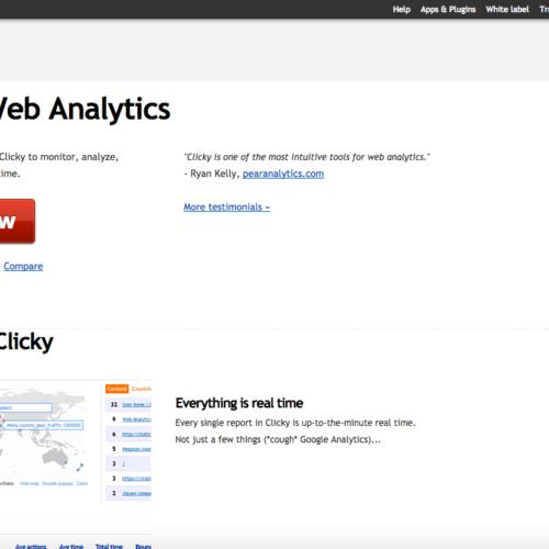 Clicky Analytics