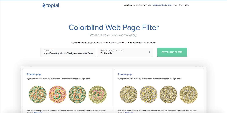 Colorblind Filter