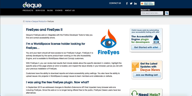 Deque Fireeyes
