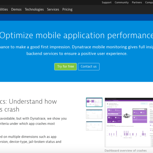 Dynatrace Mobile Monitoring