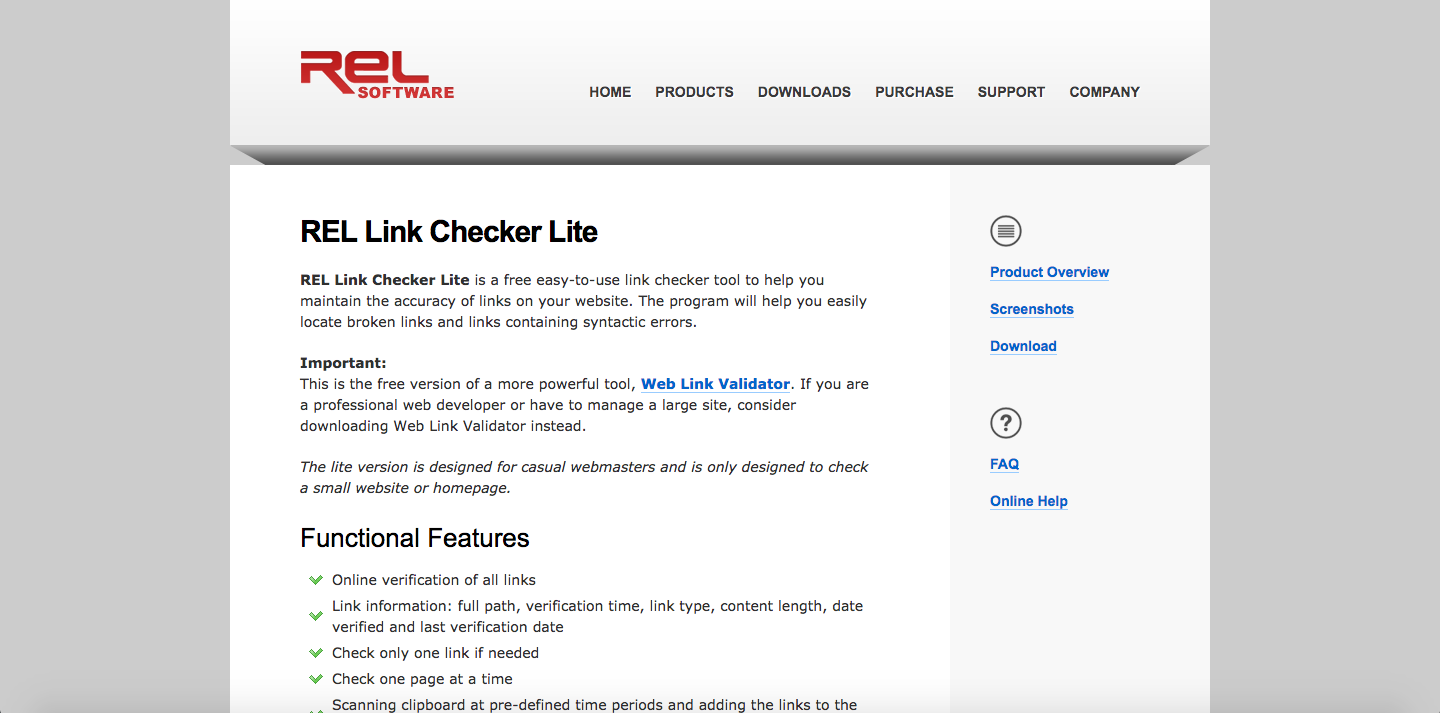Link Checker Lite