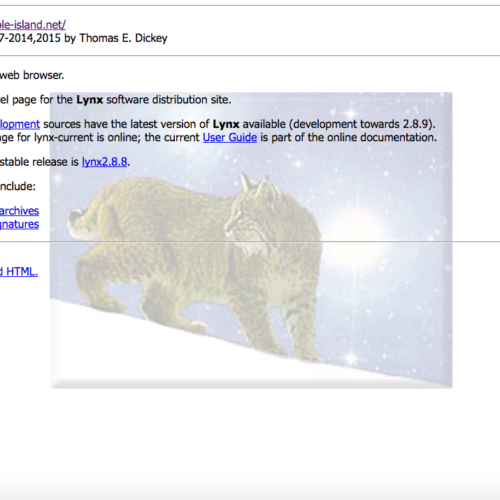 Lynx Text Browser