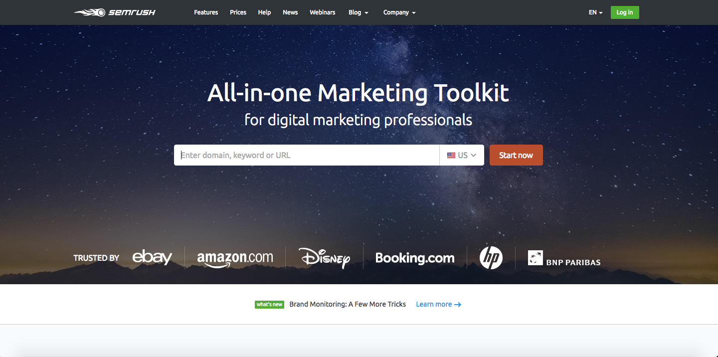 Fascination About Semrush Tool