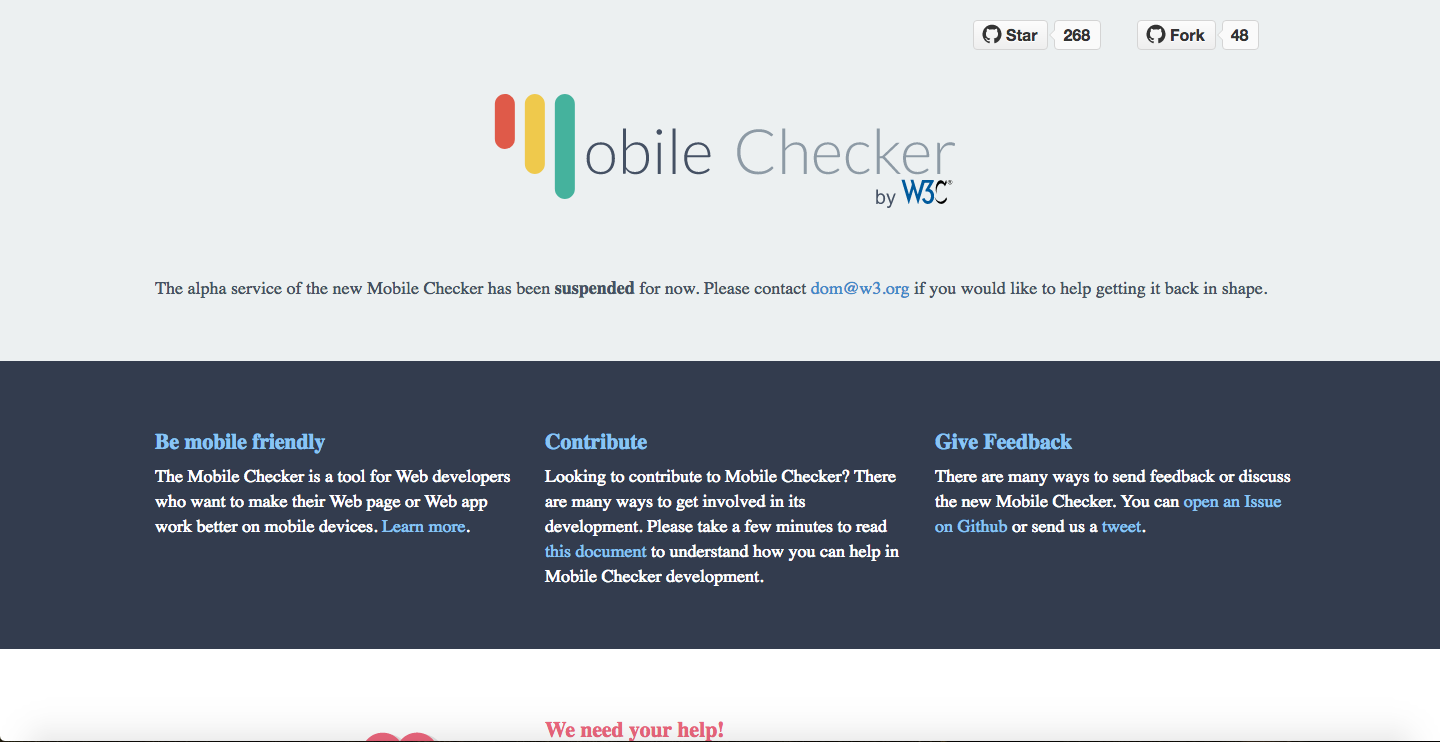 W3C MobileOK Checker
