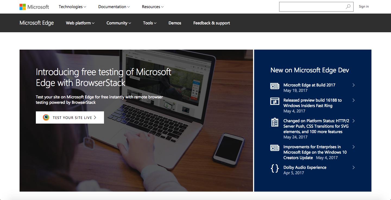 Modern IE - testing for Internet Explorer just got a little
