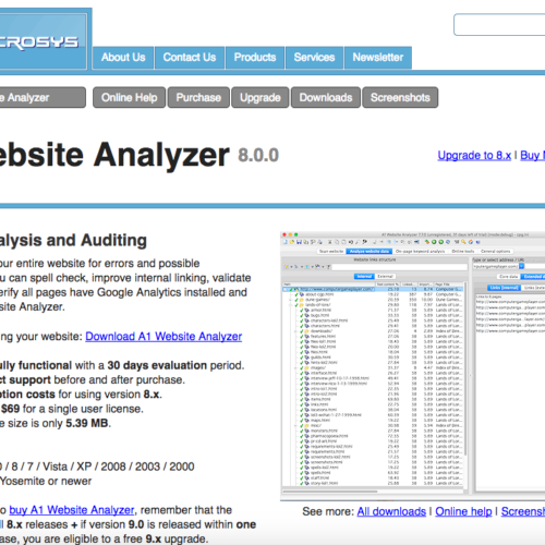 A1 Website Analyzer