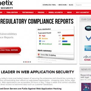 Vulnerable HTML5 test website for Acunetix Web Vulnerability Scanner. Logi