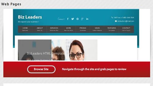 Webseam - Browse