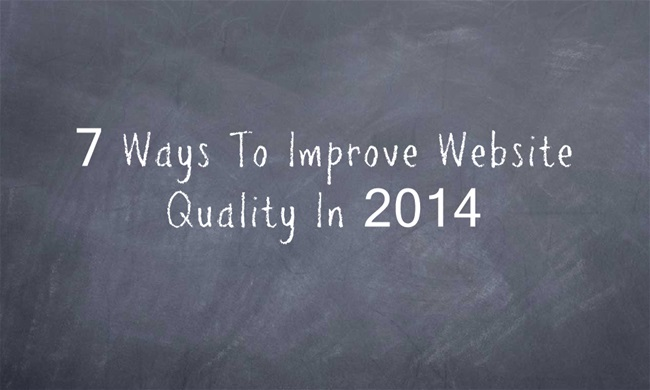 7 ways to improve website quality