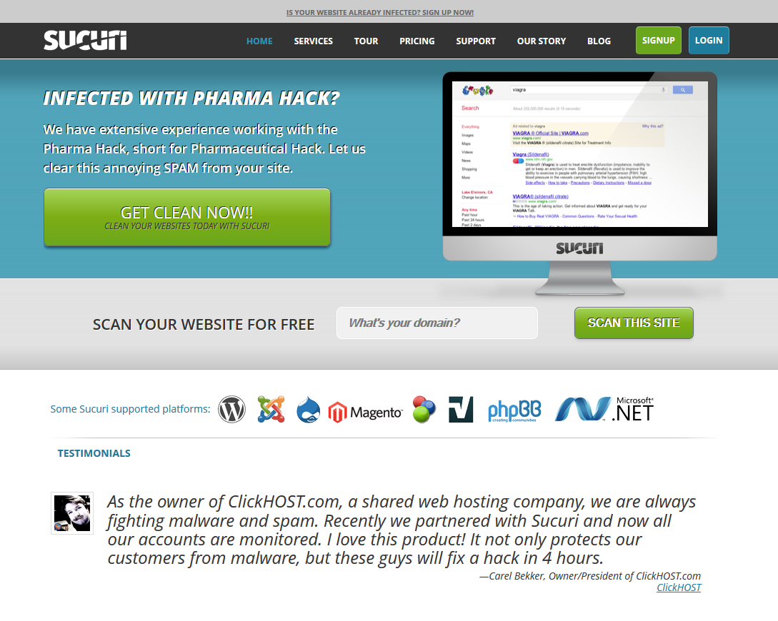Sucuri Security - Malware and Website Protection
