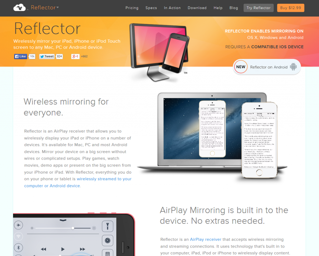 Reflector Airplay Receiver