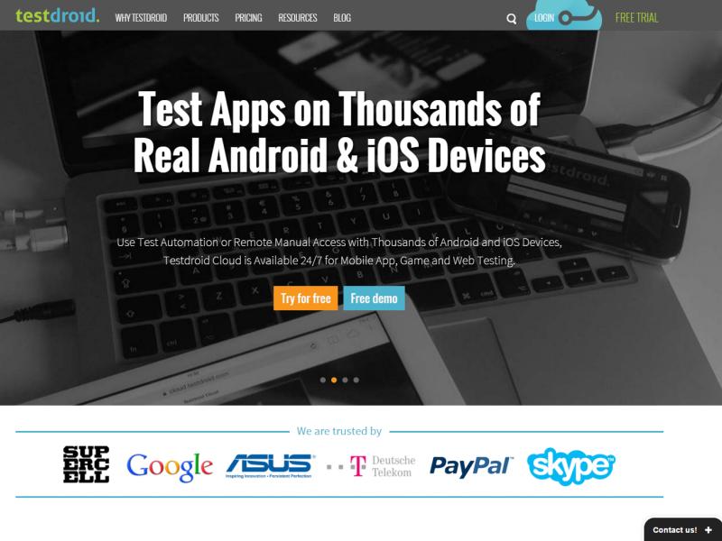 Mobile Testing Tools
