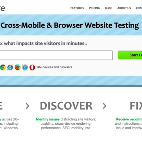 Testize - cCross-Mobile & Browser Website Testing