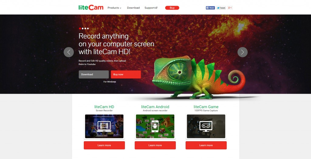 liteCam - screen recorder