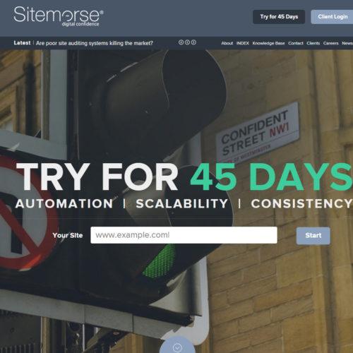 Sitemorse - digital confidence