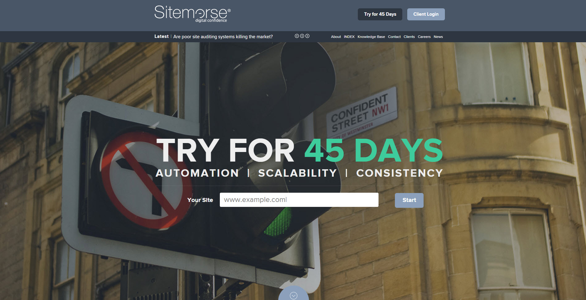 Sitemorse - digital confidence