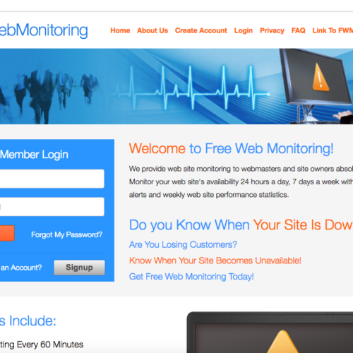 Free Web Monitoring