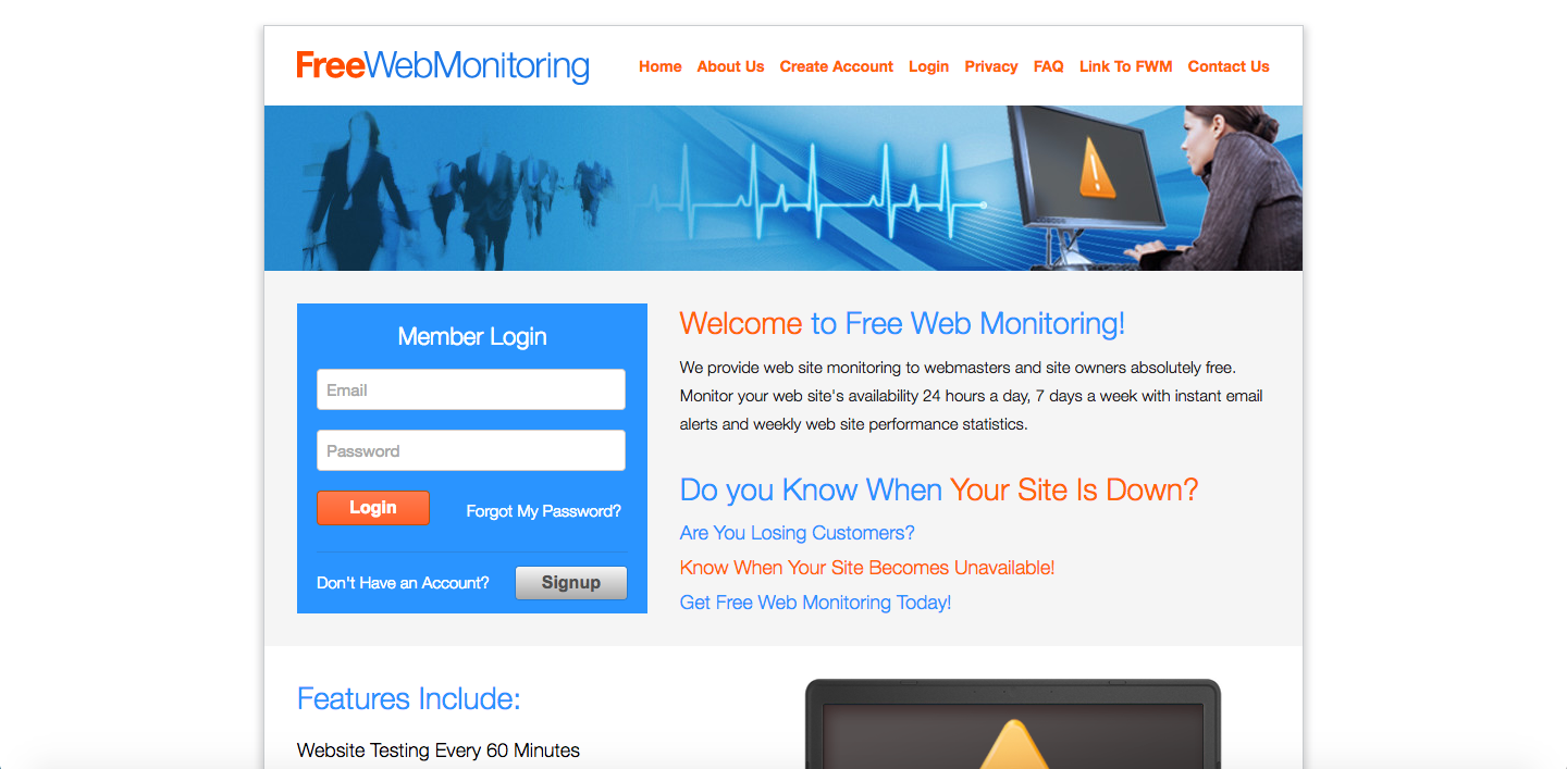 Free Web Monitoring