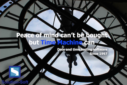 Time Machine - Peace of mind