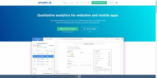 Smartlook - qualitative analytics