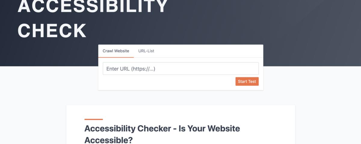 EXPERTE Accessibility Checker